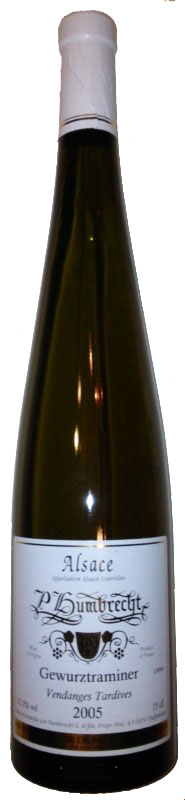 Gewurztraminer Vendanges Tardives 2005